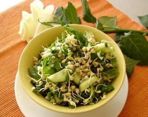 Рецепт пророщенной зеленой гречки